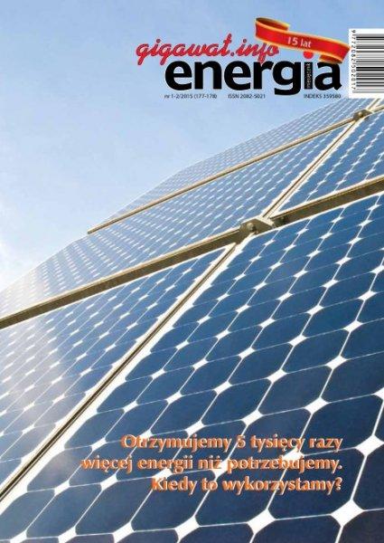 Energia Gigawat - miesięcznik - prenumerata kwartalna już od 9,45 zł